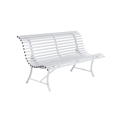 Louisiane 150 cm 100-1-Cotton-White-Bench-15...